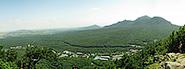 3D панорама и фотографии с вершины горы Железной