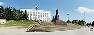 Панорама и фотографии площади Ленина Железноводска