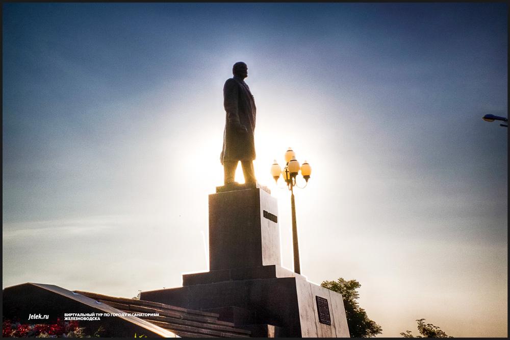 Железноводск памятник ленину