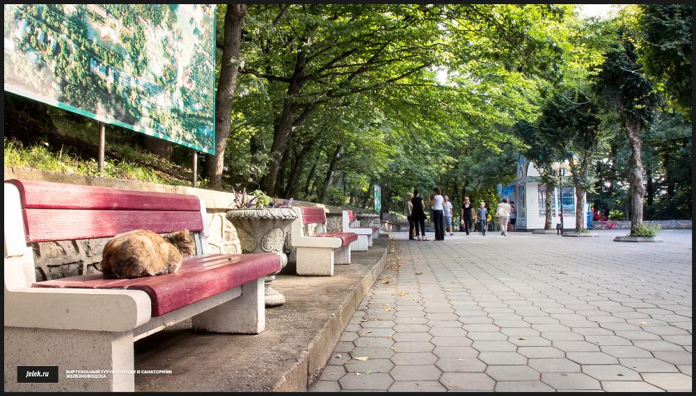 Железноводск лечебный парк