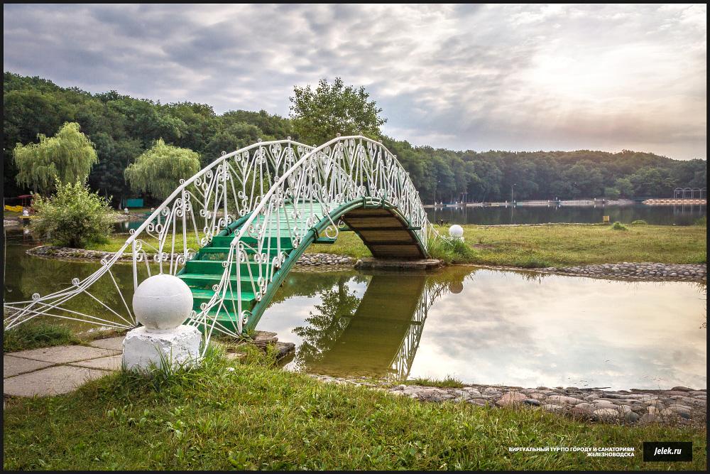 Железноводск мост на озере