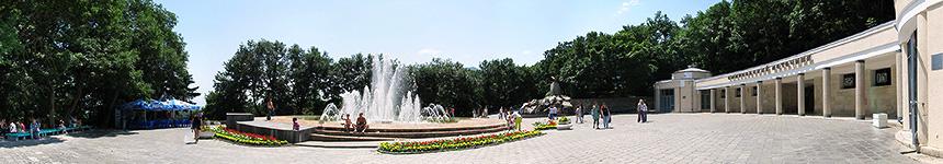Смирновский источник, музыкальный фонтан