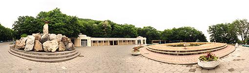 Фонтан Железноводск, панорама виртуальный тур, фото