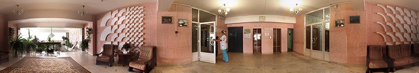 Административный этаж санатория Тельмана