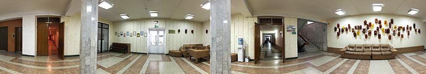 Переход в лечебный корпус санатория «Бештау»