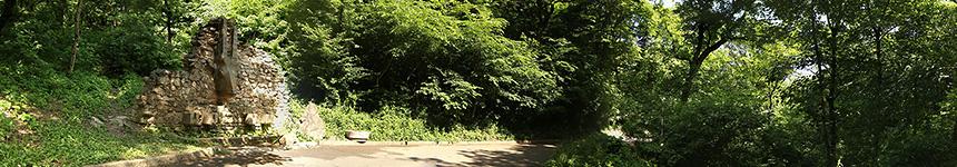 Барельеф горного козла на терренкуре