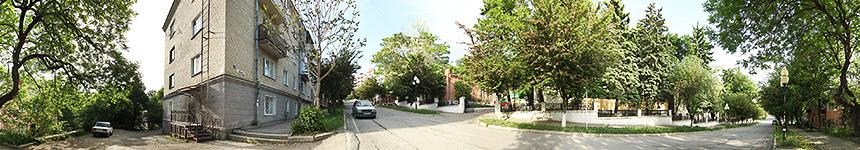 Перекресток улиц Семашко и Мироненко