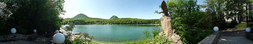 Железноводское Курортное озеро