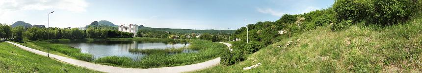 Верхнее Железноводское озеро