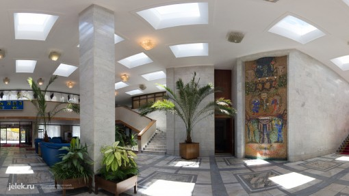 Фото холла санатория горный воздух 3