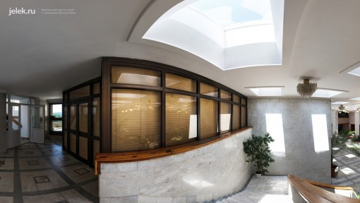 Фото холла санатория горный воздух 4