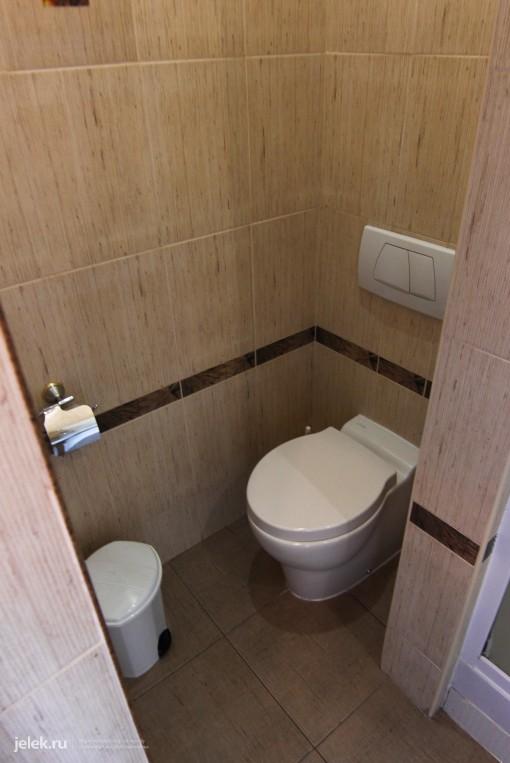 Фото туалета одноместного номера