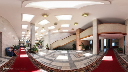 Холл санатория Горный воздух 1