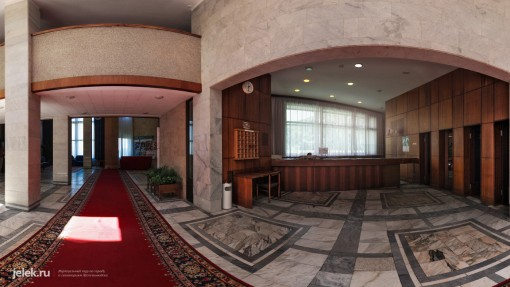 Холл санатория горный воздух 2