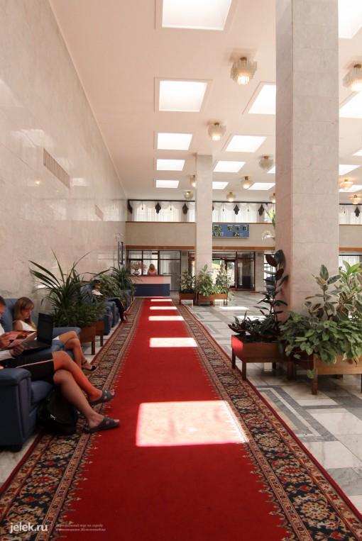 Первый этаж санатория Горный ворздух