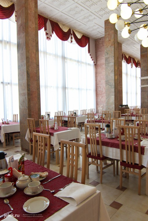 Фото столовой в санатории Горный воздух в Железноводске