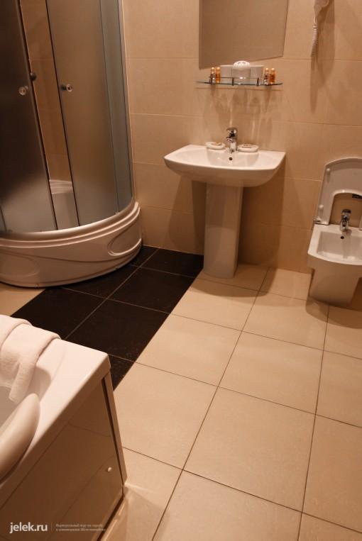 Туалет номера санатория Горный воздух