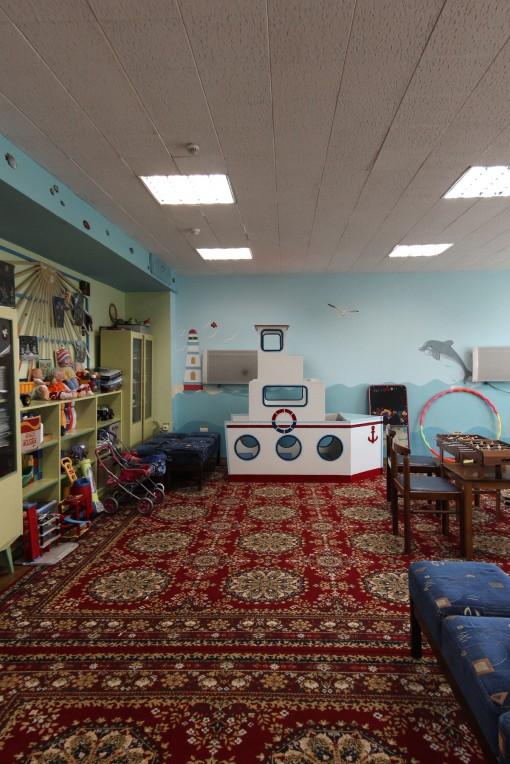 Фото детской комнаты в санатории Горный воздух Железноводск