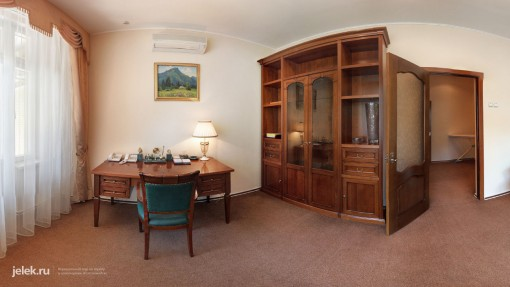 Кабинет апартаментов санатория Горный воздух