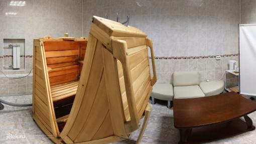 Кедровая бочка в санатории Горный воздух