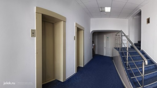 Лифт жилого корпуса санатория