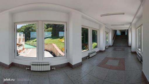 Переход между корпусами санатория горный воздух Железноводск
