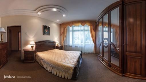 Спальня апартаментов санатория горный воздух