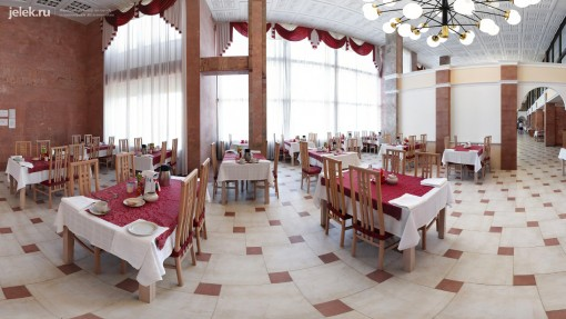 Столовая санатория Горный воздух в Железноводске