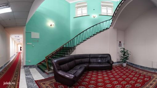 Зал отдыха жилого корпуса санатория Горный воздух