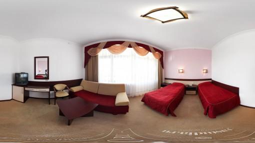 Панорама двухместного номера Полулюкс санатория Горный воздух, Железноводск