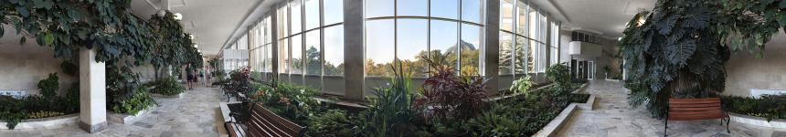 Зимний сад санатория Горный воздух