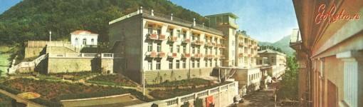 старые фото санатория