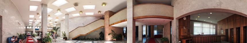 Главный холл санатория «Горный воздух»