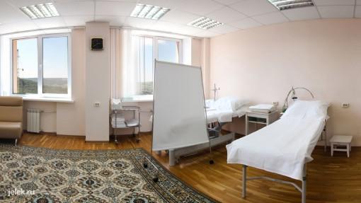 Какие-то процедуры в санатории Горный воздух