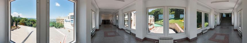 Переход между корпусами санатория «Горный воздух»