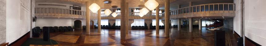 Танцевальный зал санатория «Горный воздух»