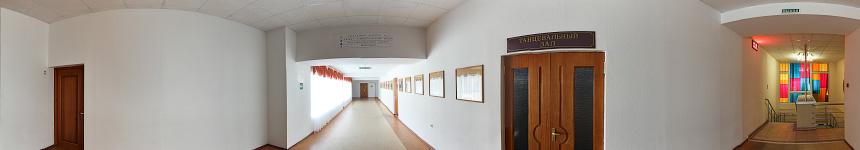 Танцевальный зал санатория им. «30 лет Победы»