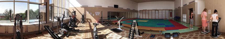 Тренажерный зал ЛФК санатория «Горный воздух»