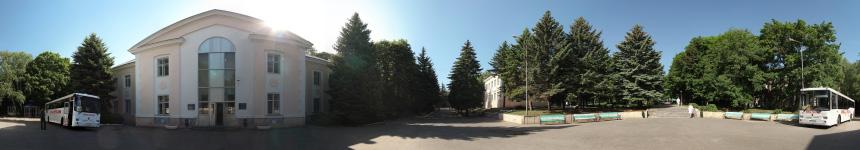 Регистратура санатория Салют