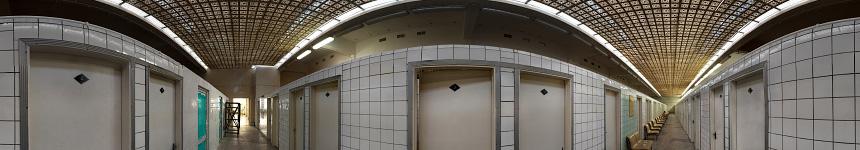 Главный лечебный зал грязелечебницы