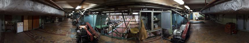 Машинное отделение грязелечебницы Железноводска