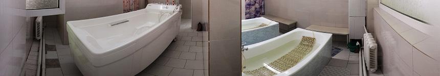 Минеральная и жемчужная ванны