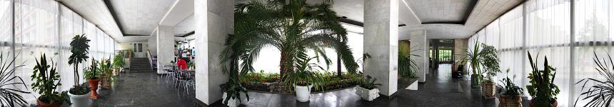 Зимний сад санатория Бештау