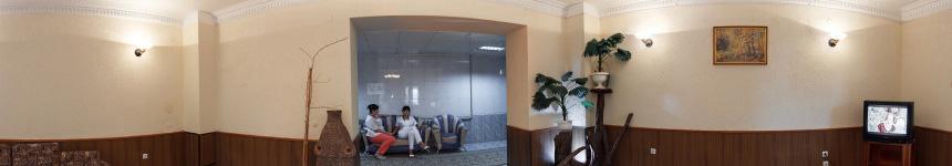 Лечебный этаж санатория Кирова