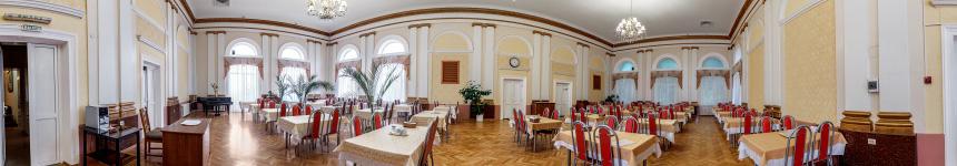 Столовая санатория Кирова