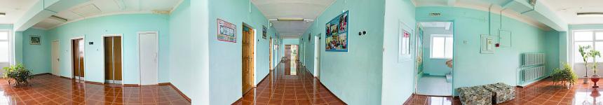 Четвертый этаж санатория им. Крупской