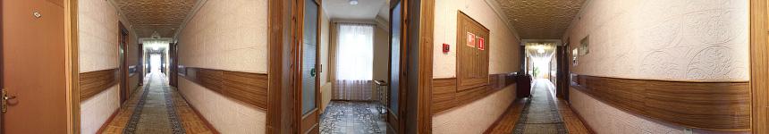Четвертый этаж санатория Тельмана в Железноводске