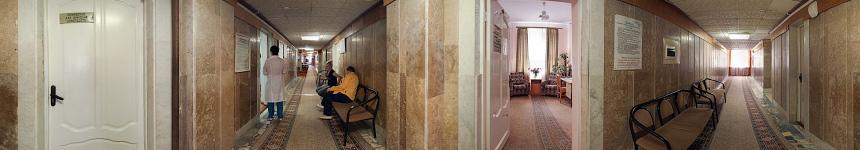 Лечебный этаж санатория Тельмана