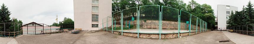 Верхняя игровая площадка санатория Крупской