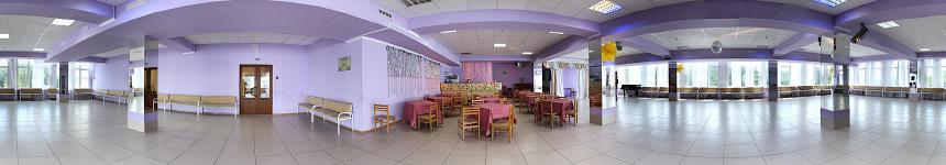Танцевальный зал санатория Тельмана